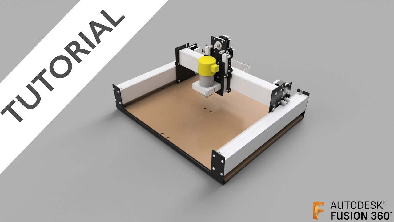 Fusion 360: Assembly Joints and Limits on the Shapeoko 3