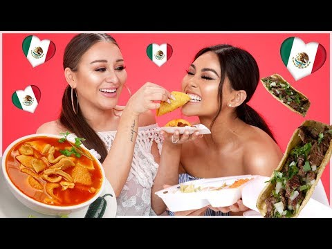 TRYING MEXICAN FOOD 2018