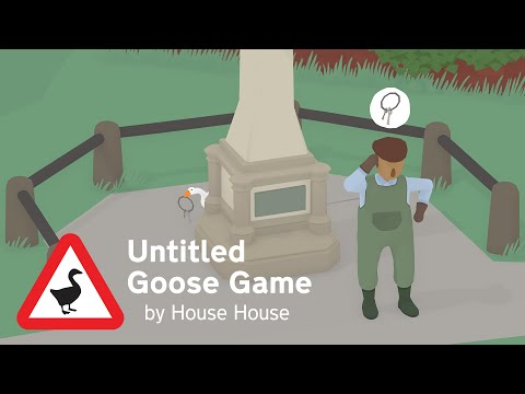 Untitled Goose Game - Gameplay Trailer - Coming September 20th!