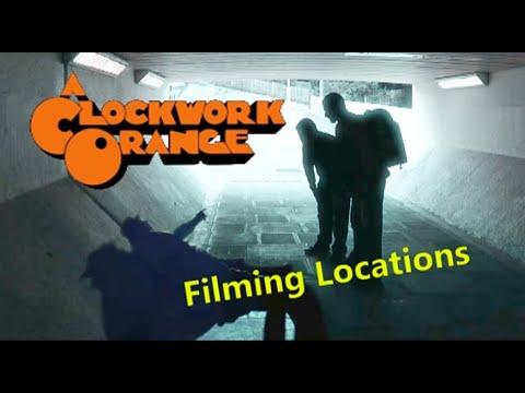 A Clockwork Orange 1971 ( FILMING LOCATION ) Stanley Kubrick