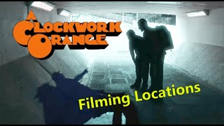 A Clockwork Orange 1971 ( FILMING LOCATION ) Stanley Kubrick