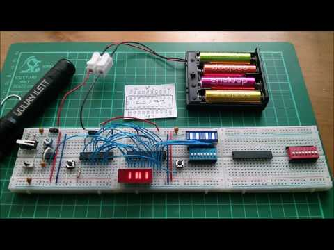 8-bit Breadboard Computer - Program Counter Replacement