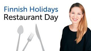 Finnish Holidays - Restaurant Day - Ravintolapäivä