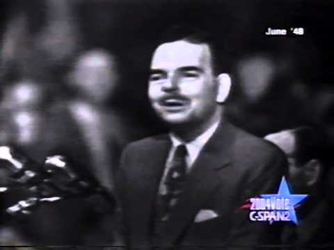 1948 Thomas Dewey Republican Convention Acceptance Speech
