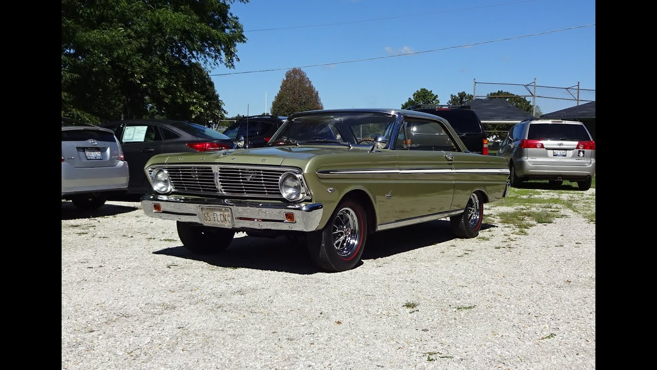 Falcon Auto Salvage >> 1965 Ford Falcon Futura In Honey Gold Paint 289 Engine Sound On My Car Story With Lou Costabile