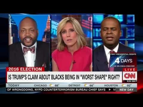 CNN Panel Gets Heated Over Trump Black Outreach - ' I Let You Spew Your Ignorance '