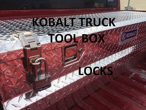 Kobalt Truck Tool Box Locks
