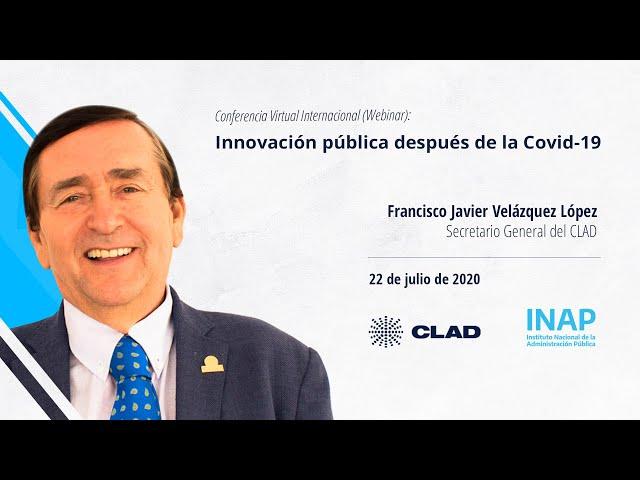 #WebinarCLAD La innovación pública después de la Covid 19