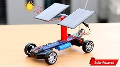 How to Make Remote Controlled Solar Powered Car