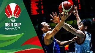 Japan v Korea - Full Game - QF-Qualifiers - FIBA Asia Cup 2017