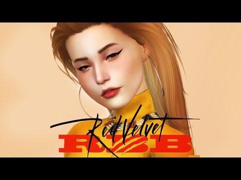 0320efedd38 RED VELVET SEULGI + CC List & Download   RED VELVET CAS COLLAB   The Sims 4  - YouTube