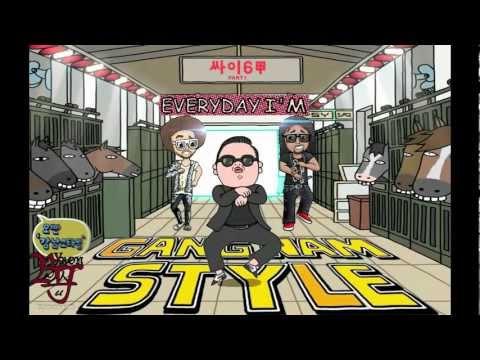 PSY vs LMFAO - Everyday I'm Gangnam Style (Full Length High Quality)