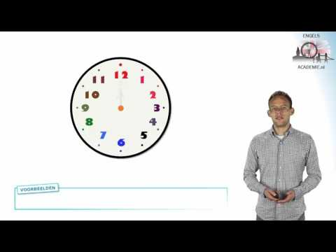 Engels - Klokkijken - Telling Time - EngelsAcademie.nl