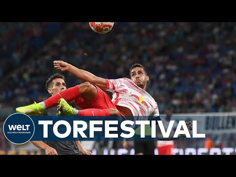 BUNDESLIGA: Überragend! RB Leipzig feiert Schützenfest gegen den VfB Stuttgart I WELT News