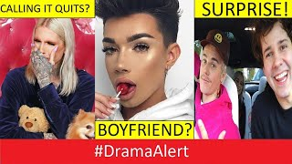 Jeffree Star Calls It QUITS! #DramaAlert James Charles BOYFRIEND? David Dobrik & Justin Bieber