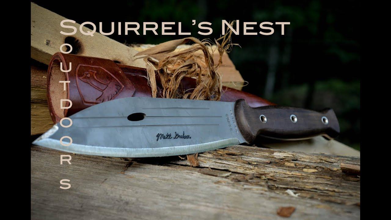 Primitive Knife Condor Primitive Bush Knife Youtube