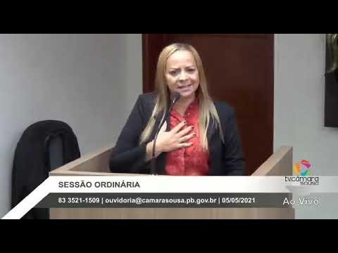 ASSISTA! Vereadora desabafa na Câmara de Sousa e diz ser ameaçada por ex-assessor