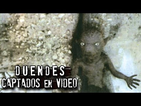 DUENDES QUE FUERON CAPTADOS EN VIDEO