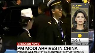 pak media reaction on modi china visit