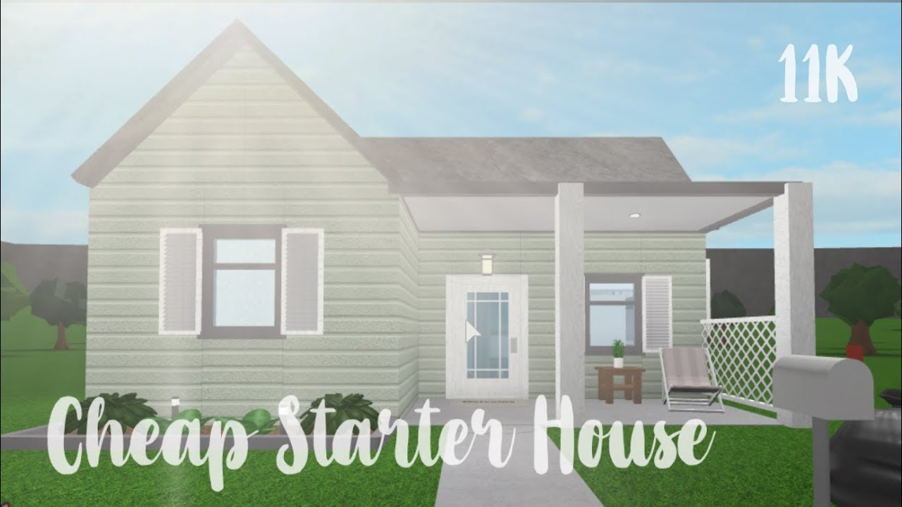 Bloxburg: Cheap Starter House 11K