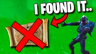 I Found Treasure WITHOUT a Map.. (Fortnite)