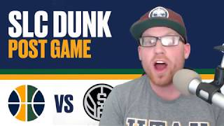 Utah Jazz vs San Antonio Spurs Post Game Reaction