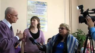 №52. О глухих. Открытие компьютерного урока для глухих пожилых пенсионеров в Симферополе.