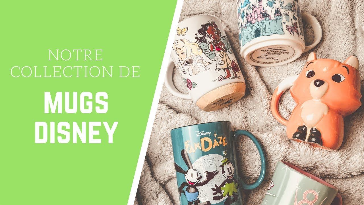 NOTRE COLLECTION DE MUGS DISNEY : STARBUCKS, SHOP DISNEY, DISNEYLAND PARIS ☕️