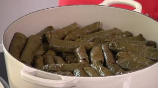 How to Make Lebanese Grape Leaves