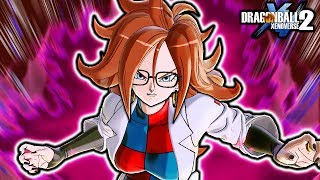 (EARLY DLC 10) NEW Android 21 ALL Skills & Moveset Gameplay! Dragon Ball Xenoverse 2 DLC Pack 10