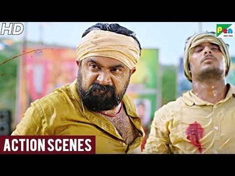 Gaon Ka Rakhwala (Kodiveeran) Best Action Scenes | New Hindi Dubbed Movie | M Sasikumar,Mahima