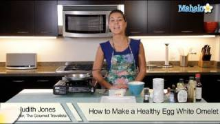 How To Make A Healthy Egg White Omelet