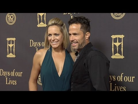 Arianne Zucker & Shawn Christian Red Carpet Style at Days of Our Lives 50 Anniversary Party