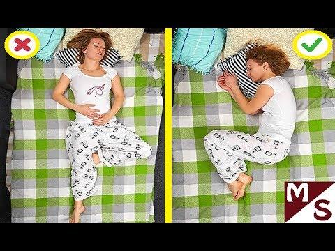 Как уснуть за 1 минуту ребенку 12 лет