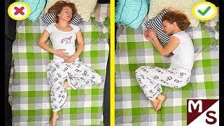 КАК УСНУТЬ ЗА 5 МИНУТ? 100 ПРОЦЕНТНАЯ ГАРАНТИЯ как быстро уснуть