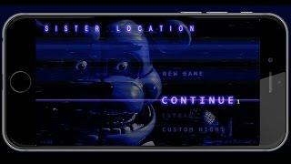 FNAF Sister Location MOBILE VERSION!!! App Spotlight #87