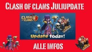 Clash of Clans: Juli-Update - Hexe, 1 Jahr COC und mehr!