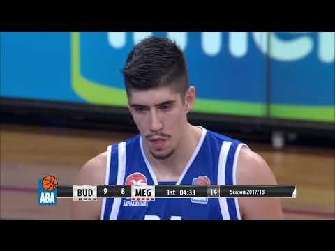 ABA Liga 2017/18, Round 5 match: Budućnost VOLI - Mega Bemax (21.10.2017)