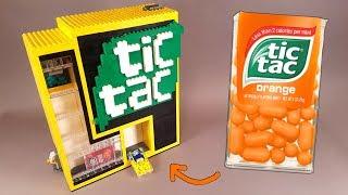 Как сделать Tic Tac Машину из Лего !