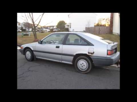 1987 honda accord hatchback youtube. Black Bedroom Furniture Sets. Home Design Ideas