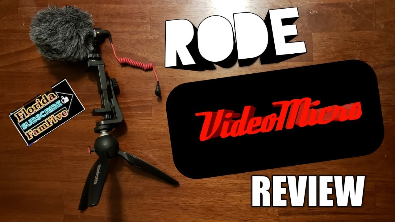 RODE VideoMicro Review with the Samsung Galaxy S9 plus