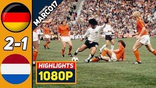 ФРГ Германия Нидерланды 2 1 Обзор Матча Финал Чемпионата Мира 07 07 1974 HD