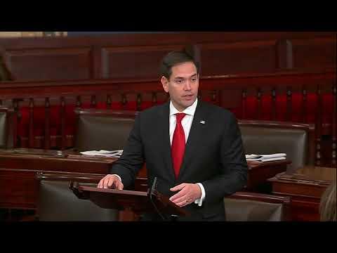 On Senate Floor, Rubio denounces the Schumer Shutdown