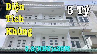 Bán Nhà Quận 12, DT Khủng 3.2(NH6)x20M Nhà Xây Mới 3 Tấm Khu Nhà Lầu P.Tân Thới Hiệp, Giá Cực Rẻ