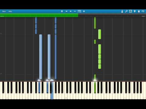 Digimon Fusion - Title Theme Piano Arrangement (Synthesia)