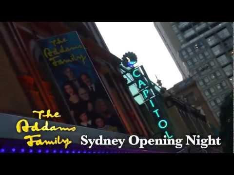 The Addams Family Australian Premiere