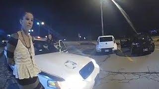 Arrested Suspect Steals Tulsa Police Cruiser