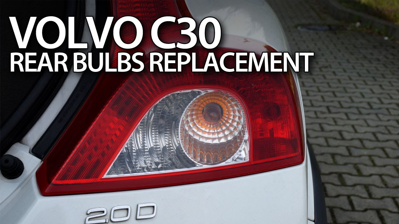 Volvo c30 change replace rear bulbs do it yourself tutorial youtube solutioingenieria Choice Image