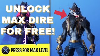 GLITCH GET TIER 100, MAX XP Dire Skin, FREE! | NO BATTLE PASS (FORTNITE SEASON 6)(NO CLICKBAIT!)