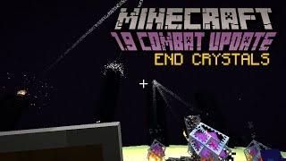 Minecraft - END CRYSTALS   1.9 Combat Update Challenge [11]